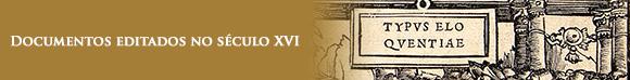 Documento editado do sec XVI