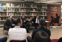 André Carneiro, Luiz Claudio Santos e Miguel Gerônimo.