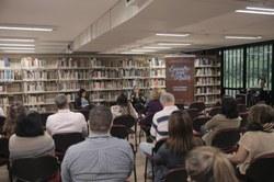 Público no Encontro com o Autor.