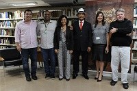 Ernani Rufino, Raphael Cavalcante, Maria Amélia Elói, Prof. Filemon Felix, Janice Silveira, Marcos Antunes