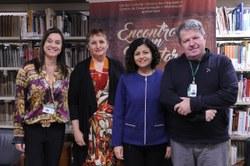 Janice Silveira, Luci Afonso, Maria Amélia Elói e Marcos Antunes