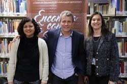 Maria Amélia Elói, André Giusti  e Janice Silveira.