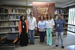 Maria Amélia Elói, Roberto Seabra, Maurinete dos Santos, Janice Silveira e Jules Rodrigues