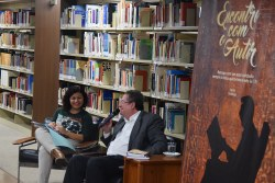 Maurício Melo Júnior no Encontro com o Autor