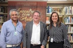 Paulo Cezar Alves, Maurício Melo Júnior e Janice Silveira.