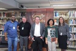 Raphael Cavalcante, Marcos Antunes, Maurício Melo Júnior, Maria Amélia Elói e Janice Silveira.