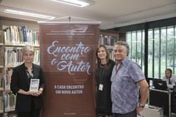 Teresa Cristina de Novaes Marques, Janice Silveira e Paulo Cezar Alves.