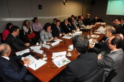 Plenário da reunião