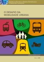 CAPA LIVRO O DESAFIO DA MOBILIDADE URBANA