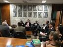Deputados do Novo visitam a Consultoria Legislativa
