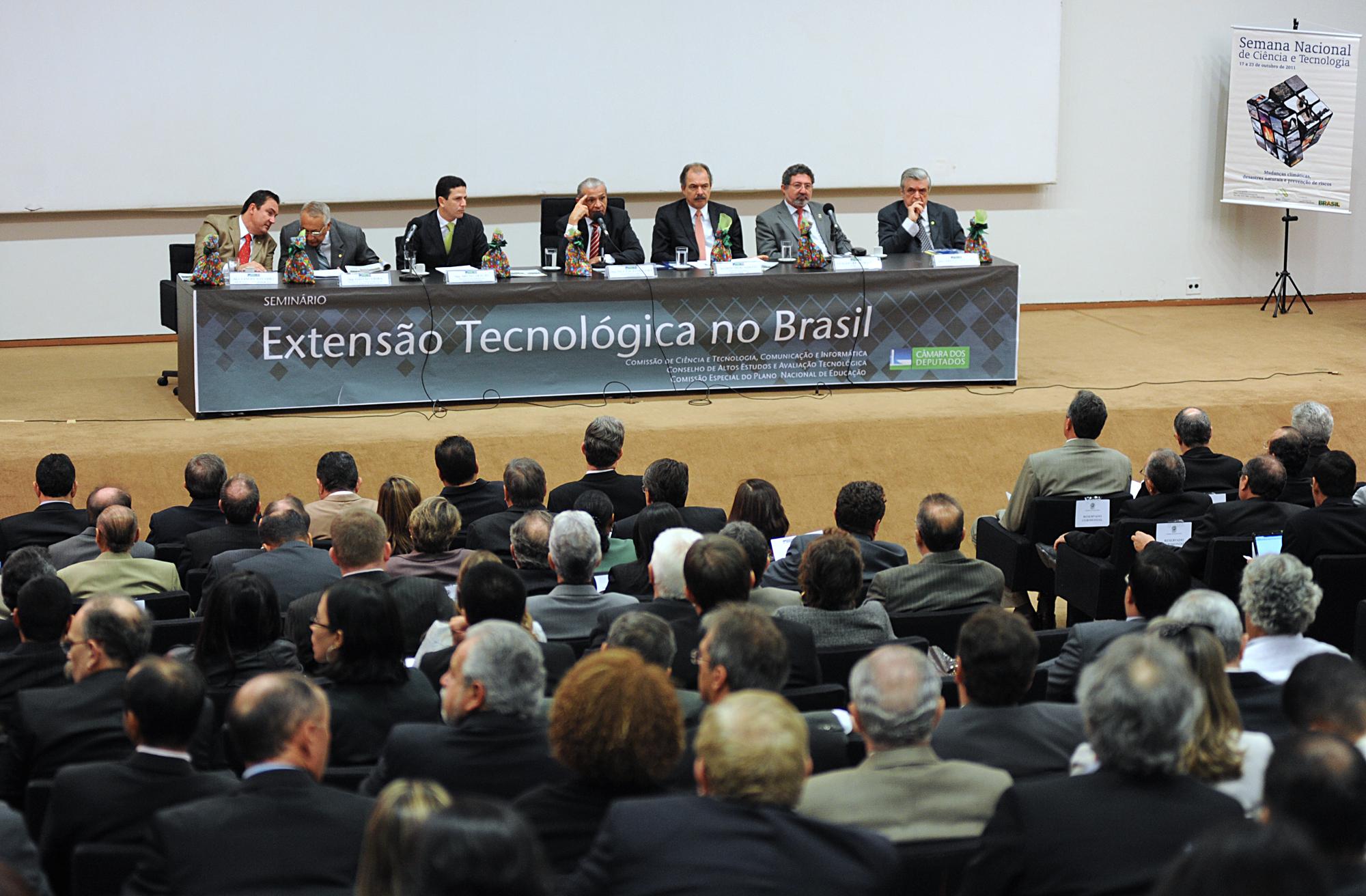 Seminário sobre Extensão Tecnológica