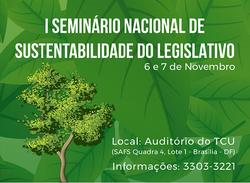 I Seminário Nacional de Sustentabilidade