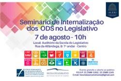 Câmara participa de Seminário sobre ODS na Assembléia Legislativa do Rio de Janeiro