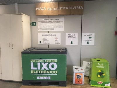 Câmara dos Deputados encaminha esponjas de limpeza para programa de reciclagem