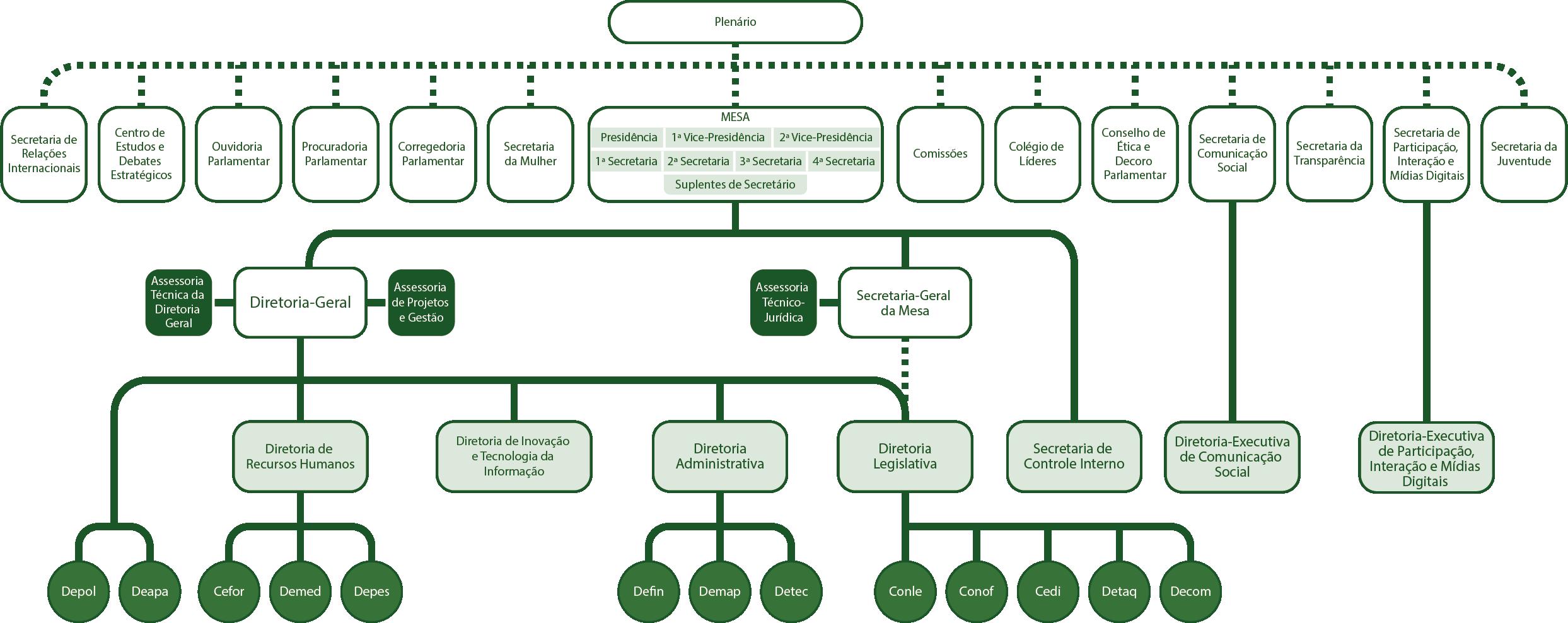 Organograma - Estrutura Administrativa