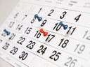 Agenda da semana - 30/11 a 04/12/2015