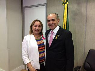 Deputada Gorete Pereira defende mais recursos para a saúde