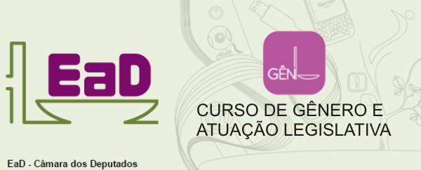CURSO DE GÊNERO E ATUAÇÃO LEGISLATIVA