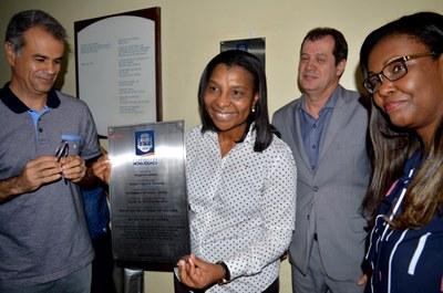 Rosangela Gomes participa do lançamento das obras do novo Centro de Imagens do Hospital da Posse