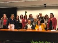 Deputadas elegem nova composição da Secretaria da Mulher