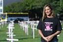 Esplanada será tomada por cruzes no Dia Internacional de Combate à Violência Contra a Mulher