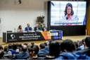 Rosangela Gomes ressalta parceria com os EUA em evento sobre Política Externa