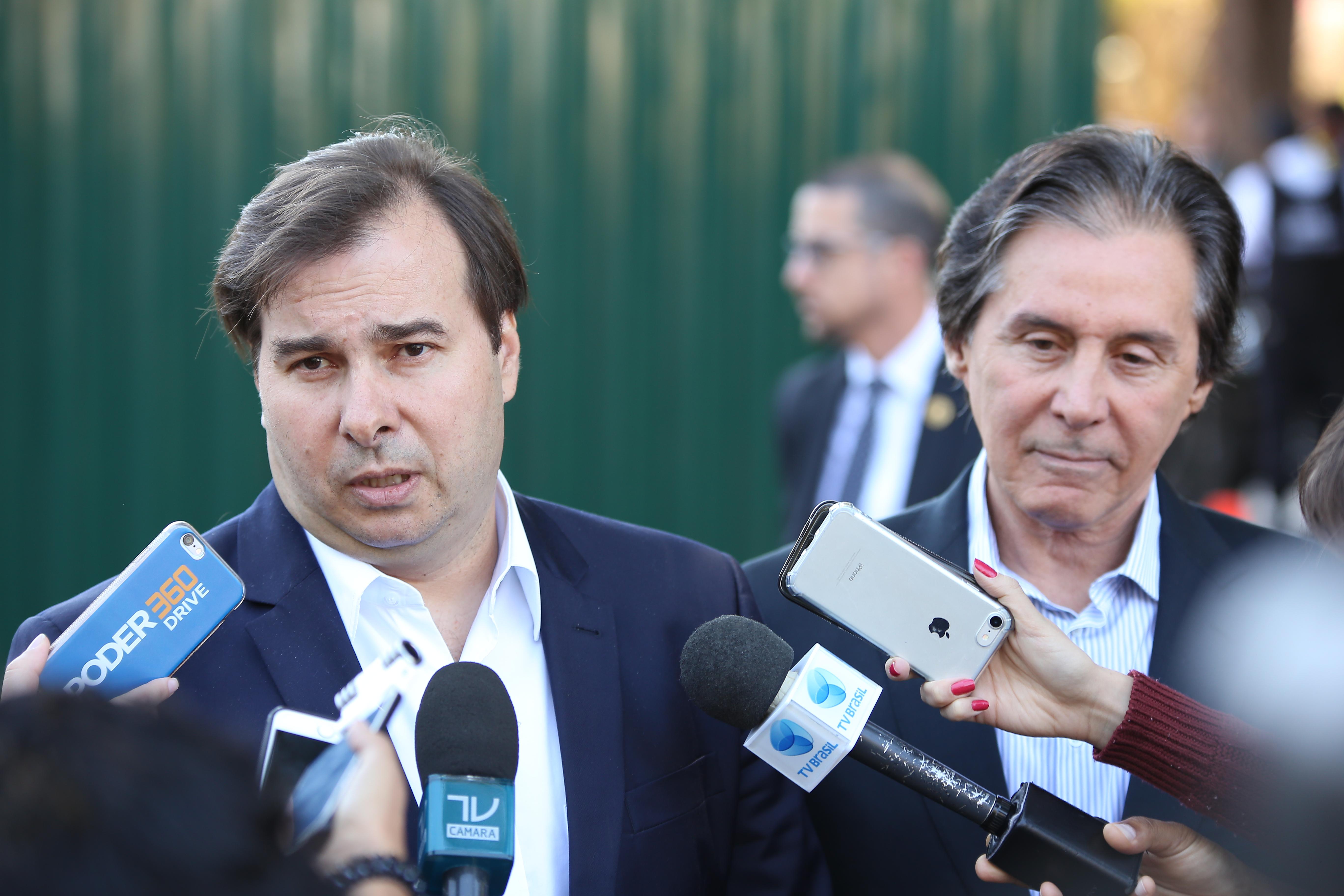 Para Rodrigo Maia, situação do Rio de Janeiro exige coordenação federal
