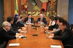 Comissão contra tráfico se reúne com peritos criminais