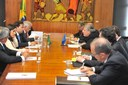 Maia e secretário da OEA discutem alternativas de ajuda à Venezuela