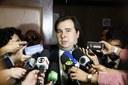 Para Rodrigo Maia, ambiente democrático atrai investimentos para o Brasil