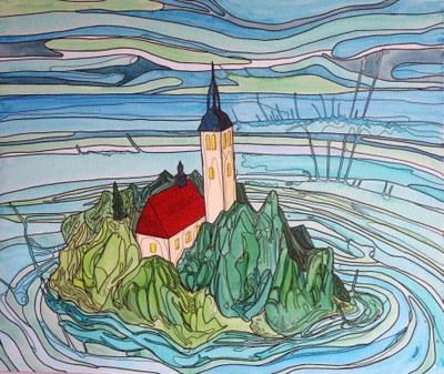 Octávio Rold, Ilha Eslovena