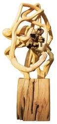 BD-0066, de Bia Doria - Resíduo de floresta de manejo e flores de madeira da Floresta Amazônica