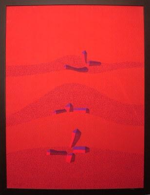 Paisagem vermelha, 2011