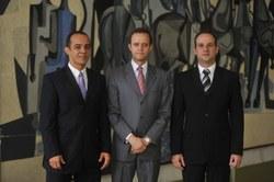 Encontro com o Autor - Convidados: André Carneiro, Luiz Claudio Santos e Miguel Gerônimo