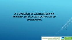 Comissão de Agriculturas divulga números de suas atividades em 2019
