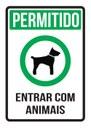 CCJC aprova aviso obrigatório em órgãos públicos, lojas e restaurantes sobre regras para entrada de animais