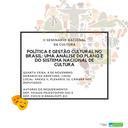 08/11/2017 - Seminário Nacional de Cultura.