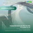 19/08/2019 - Audiência Pública sobre Festival Internacional de Cinema de Alter do Chão
