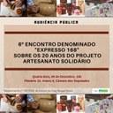 20 anos do projeto Artesanato Solidário