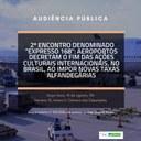 """4º """"EXPRESSO 168"""": Aeroportos decretam o fim das ações culturais internacionais no Brasil ao impor novas taxas alfandegárias"""