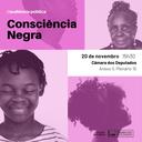 """Audiência Pública - """"Consciência Negra"""" (20/11)"""