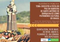 Audiência Pública - Festa do Pau da Bandeira de Santo Antônio de Barbalha (18/05)