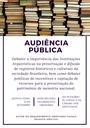 Audiência Pública - Importância das Instituições Arquivísticas (dia 13/09/2017)
