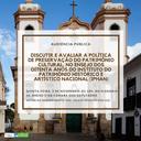 Audiência Pública - IPHAN (dia 09/11/2017)