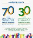 Nilmário Miranda e Paulo Vannuchi participam de audiência pública sobre os 70 anos da Declaração Universal dos Direitos Humanos
