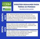 CDHM vai a Alagoas debater situação da população de rua, violência contra LGBTs e doenças raras