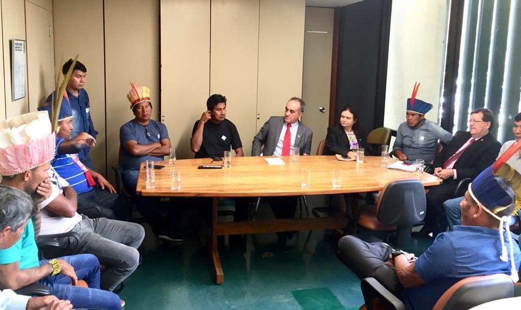 Indígenas buscam apoio para discutir futuro da Funai e atendimento à saúde