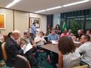 Deputada Margarida Salomão recebe representantes do setor do saneamento
