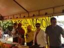 Presidenta da CDU é recebida pela Marcha Nacional pelo Direito à Cidade