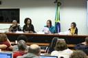 Seminário, em 09 de maio de 2019, sobre escolas cívico-militares.